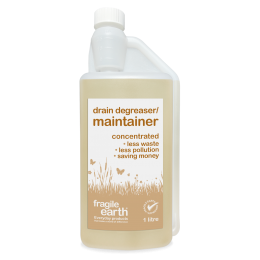 Drain Degreaser/Maintainer - digest fats, oils grease, eliminates bad smells and helps prevent blockages, provides long term residual action