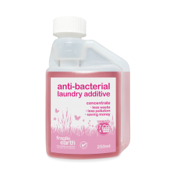 Biocidal (Anti-Bacterial) Laundry Additive.Sanitises and kills germs and pathogens in laundry and all machine parts and pipes.