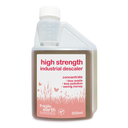 High Strength Industrial Descaler- Super strong organic acid cleaner - removes limescale - NO conventional solvents or acids, rapidly biodegradable, non-ozone depleting, non-carcinogenic, non-toxic.