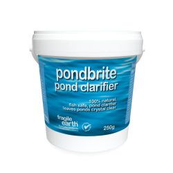Pondbrite Pond, Fisheries and Reservoir Clarifier (bio-augmentation) 500 gram pack will treat a 20m2 pond for up to 9 weeks
