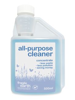 All Purpose Cleaner - biological cleaner, eliminates organic soils,  digests grease, oil, protein, fat, starch, controls odours. Fabric and upholstery safe.
